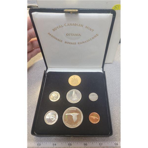 1967 Centennial gold set - full set with $20.00 GOLD COIN