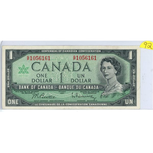 1967 $1.00 G/P 1056161