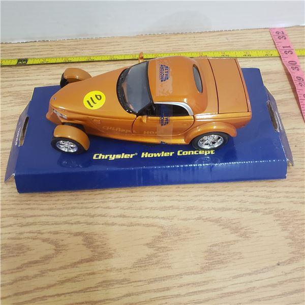 1/24 scale die cast Chrysler Concept Car