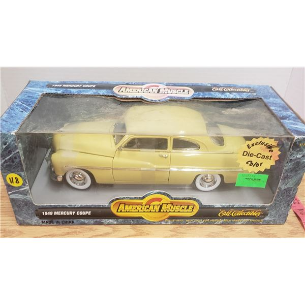 1/18 scale die cast 1949 Mercury Coupe
