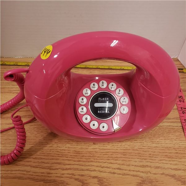 Vintage tabletop touch tone telephone vtg