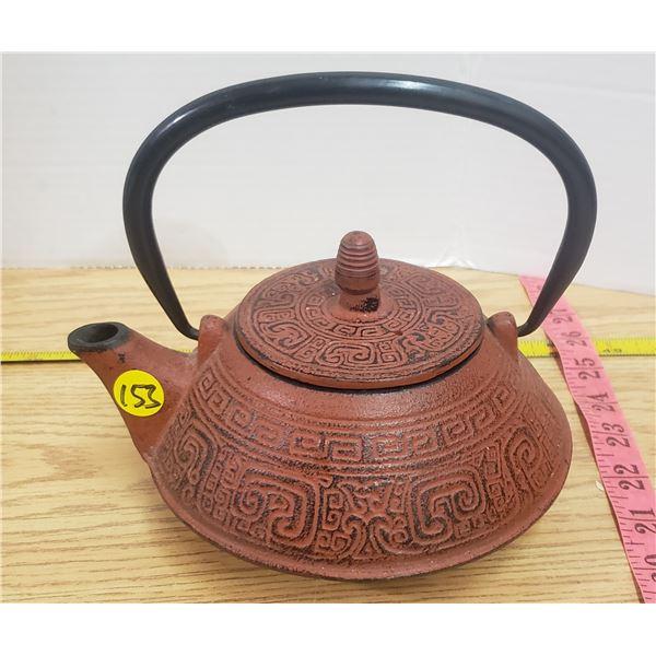 Cast iron small tea pot
