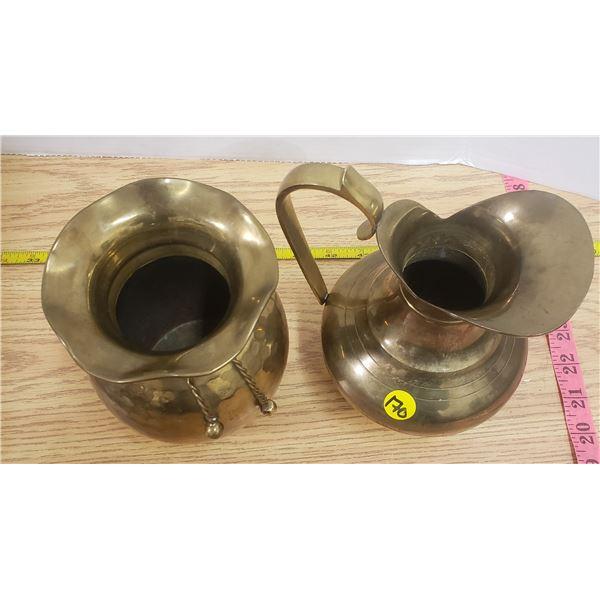 2 X vintage brass pieces