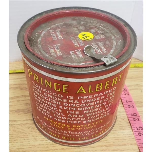 Vintage Prince Albert tobacco can