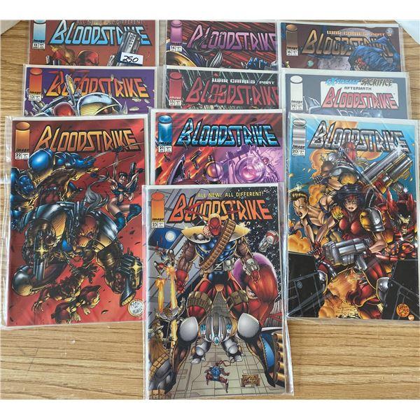Blood Stone 10 Comics