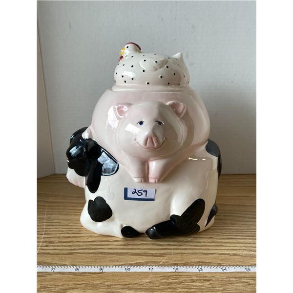 Chicken/Pig/Cow Cookie Jar