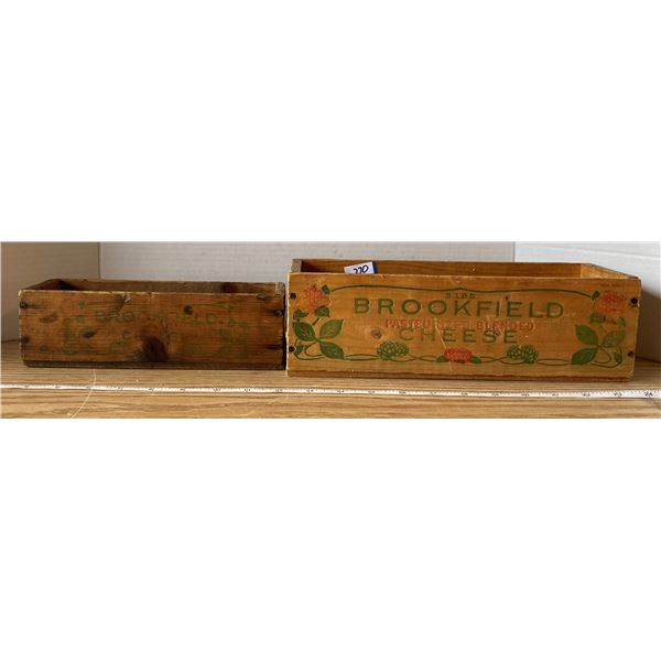 2 Cheese Boxes Brookfield