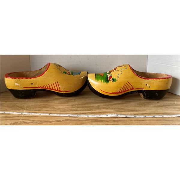 Holland Wooden Shoes Hand Painted