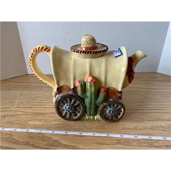 Stage Coach Teapot