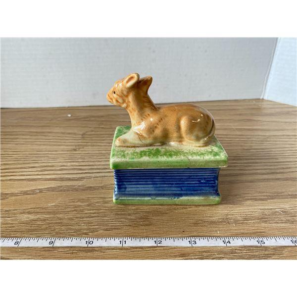 Keepsake Deer Box Made In Japan
