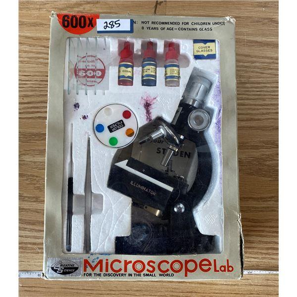 Microscope Lab Vintage