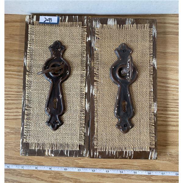 2 decorative Door Lock/Key