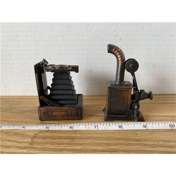 2 Cooper camera Pencil Sharpeners