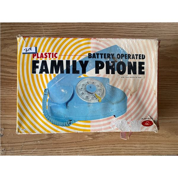 Plastic Family Phone Battery Operated