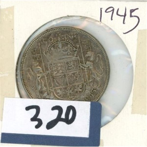 1945 Canadian 50 Cent