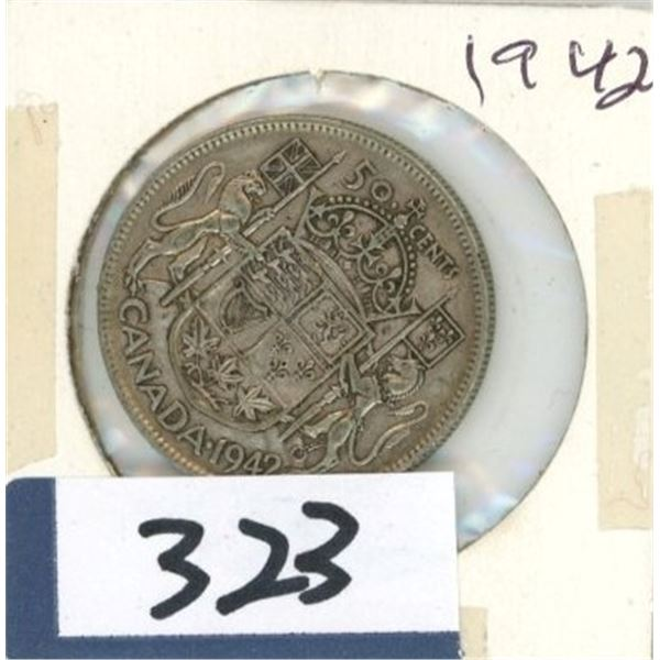 1942 Canadian 50 Cent