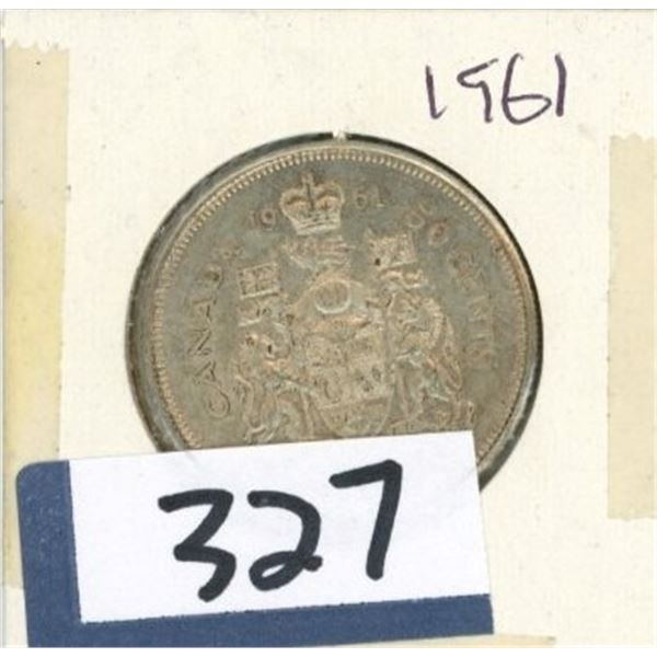 1961 Canadian 50 Cent