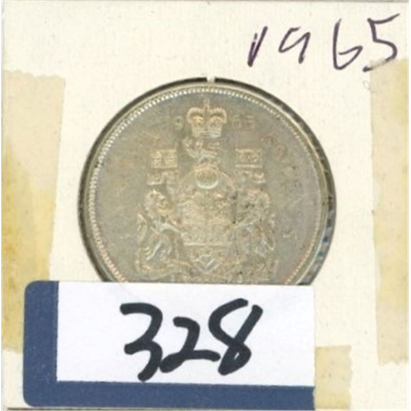 1965 Canadian 50 Cent