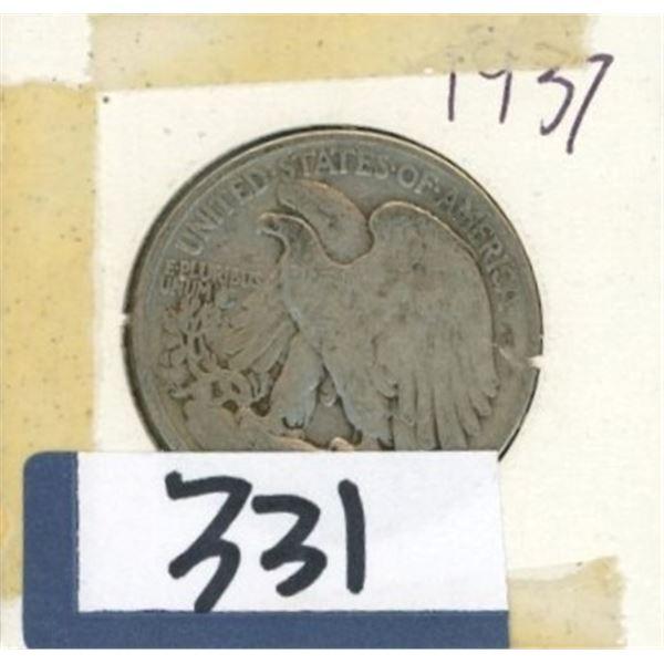 1937 U.S 50 Cent