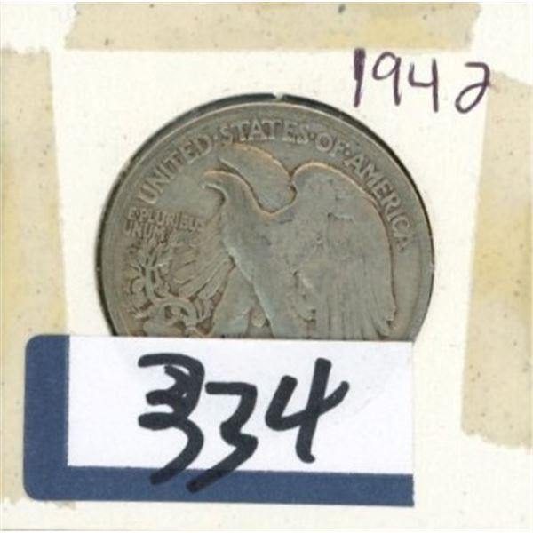 1942 U.S 50 Cent