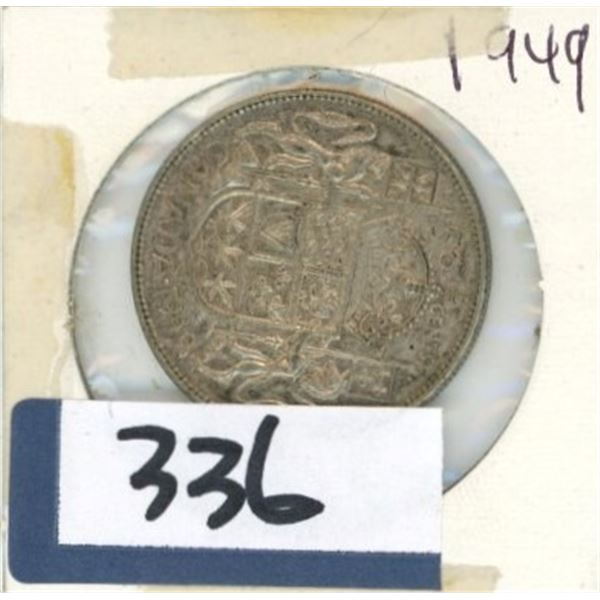1949 Canadian 50 Cent