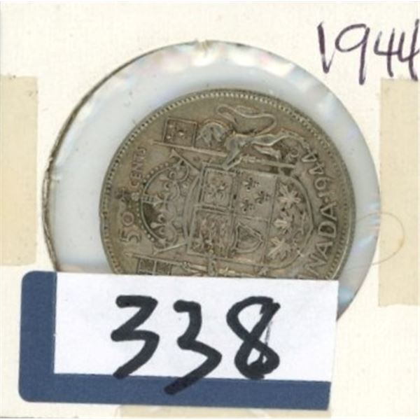 1944 Canadian 50 Cent