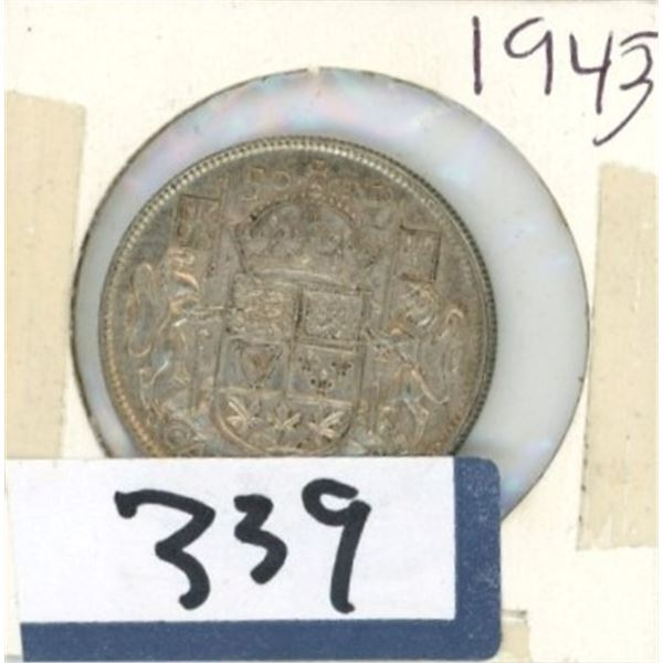 1943 Canadian 50 Cent