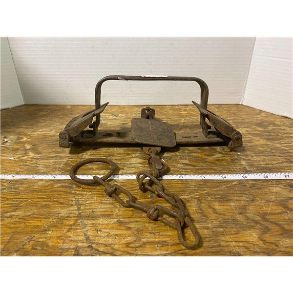 Vintage animal trap
