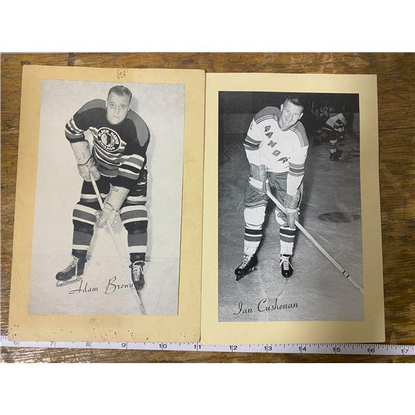 2 1945-65 Beehive hockey photos