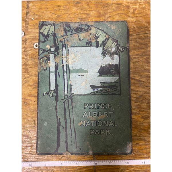 Vintage Prince Albert National Parks booklet 1920-31's