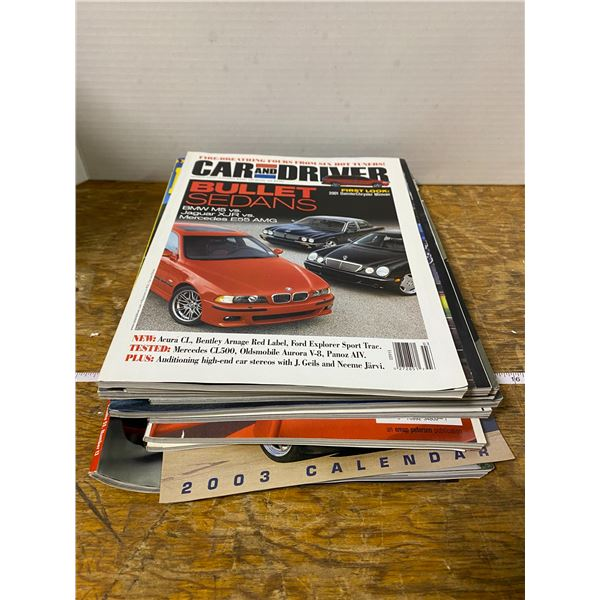 10 car magazines 1990-2000