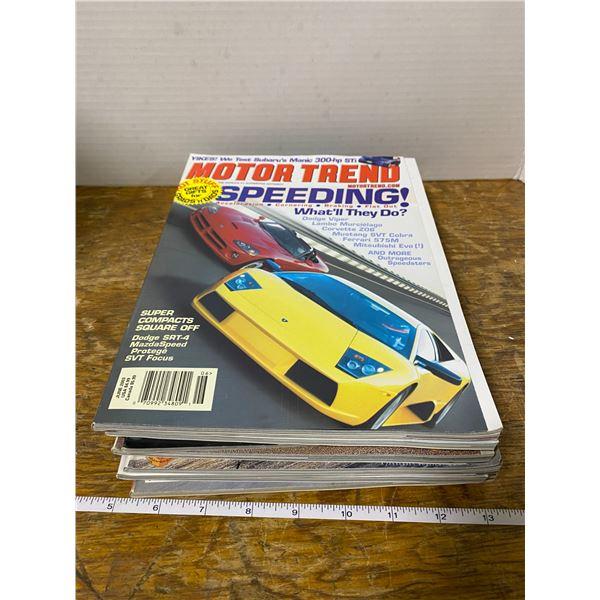 10 car magazines 1980-2000