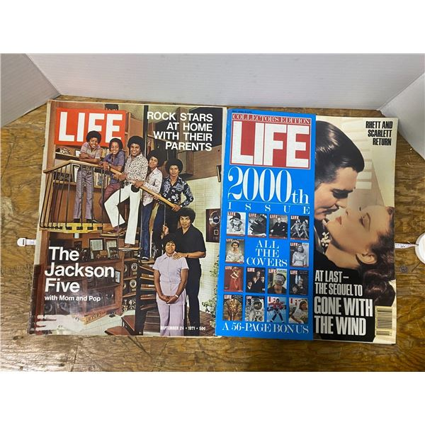 2 Life magazines The Jackson Five 1971 Collector's Edition 2000 issue