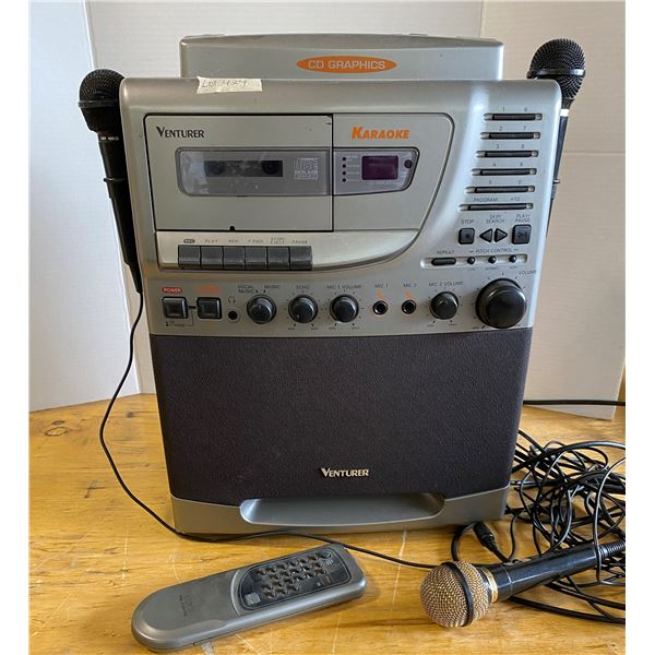 Karaoke Machine with Mic and Remote