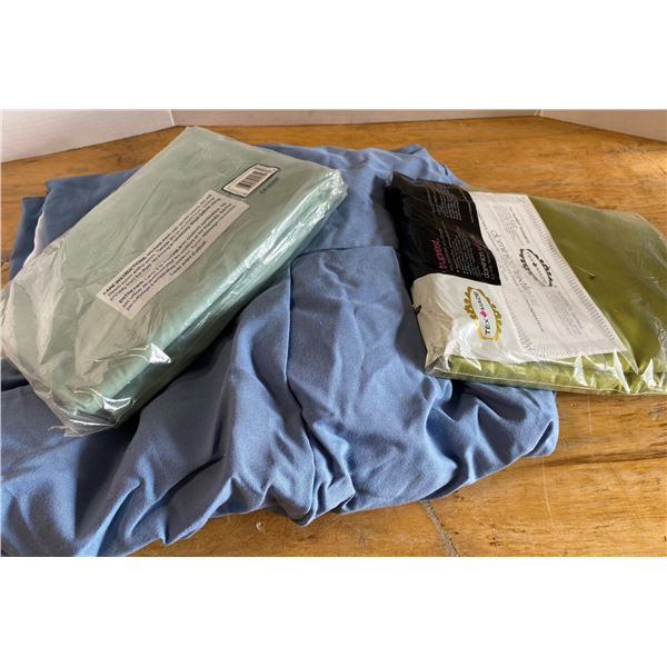 Lot of Sheets and Bed Skirt