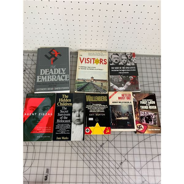 LOT OF WWII RELATED BOOKS