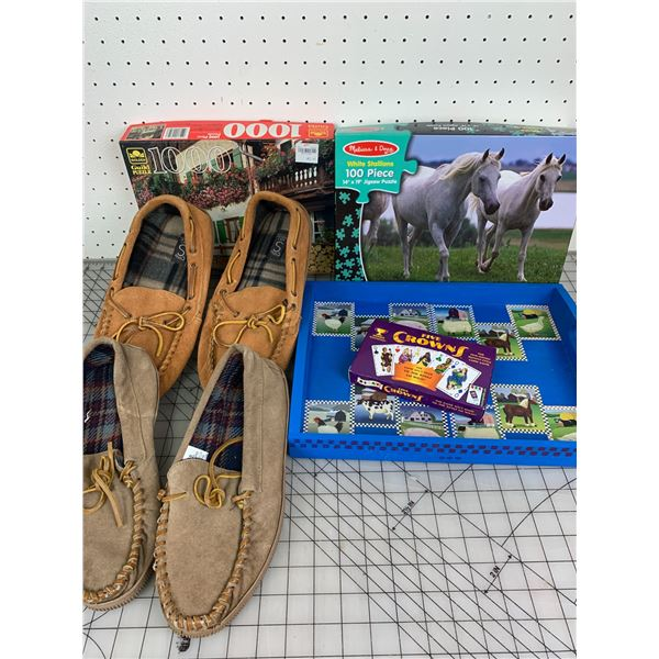 MISC LOT LOAFERS PUZZLES GAME