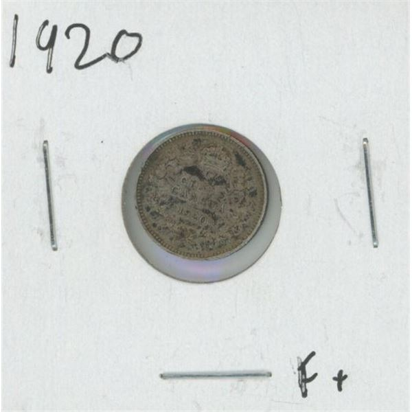 1920 Canadian Silver Nickel