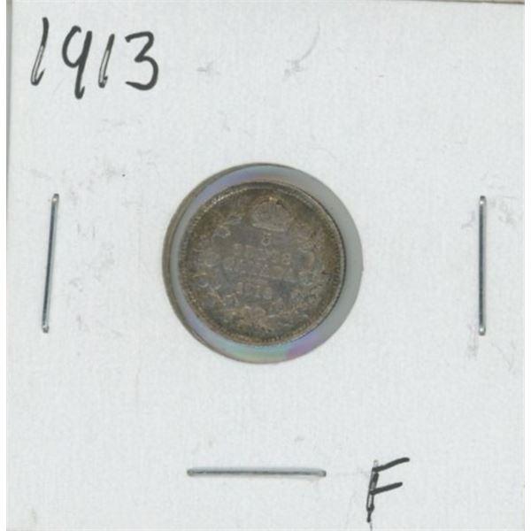 1913 Canadian Silver Nickel