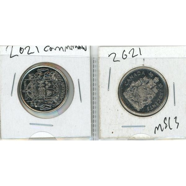 (2) 2021 Canadian 50 Cent