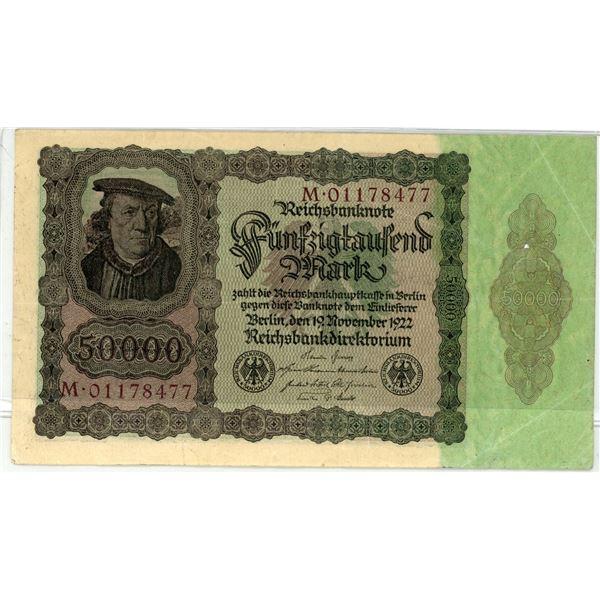 Reich banknote