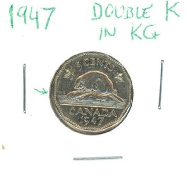 1947 Canadian Nickel