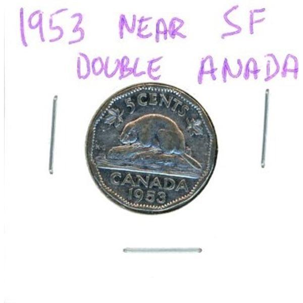 1953 Canadian Nickel