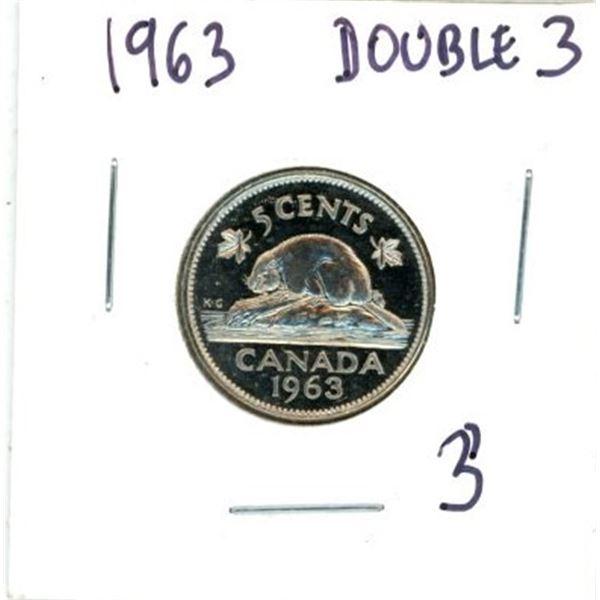 1963 Canadian Nickel