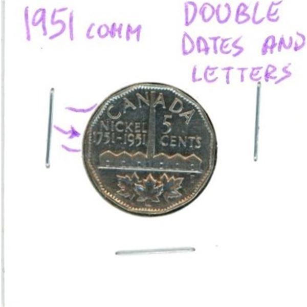 1951 Canadian Nickel