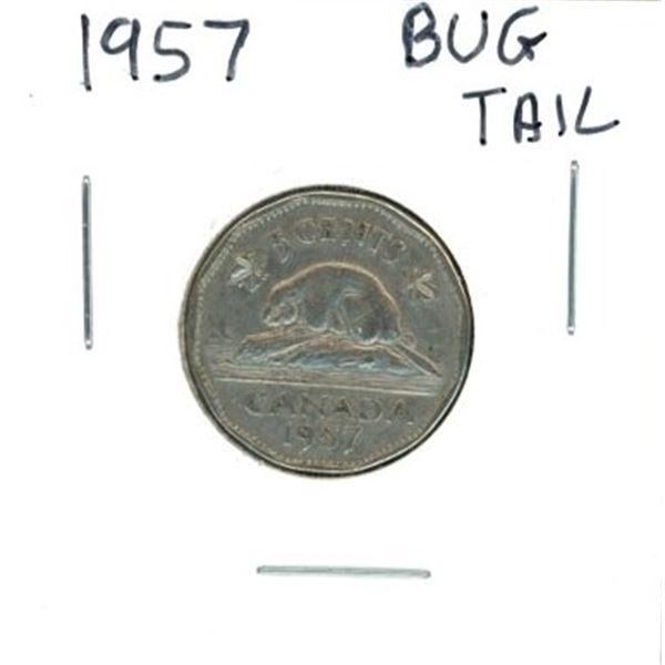 1957 Canadian Nickel