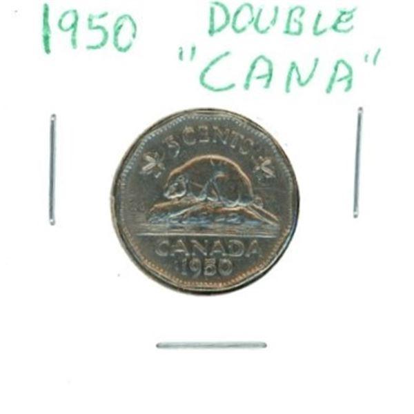 1950 Canadian Nickel