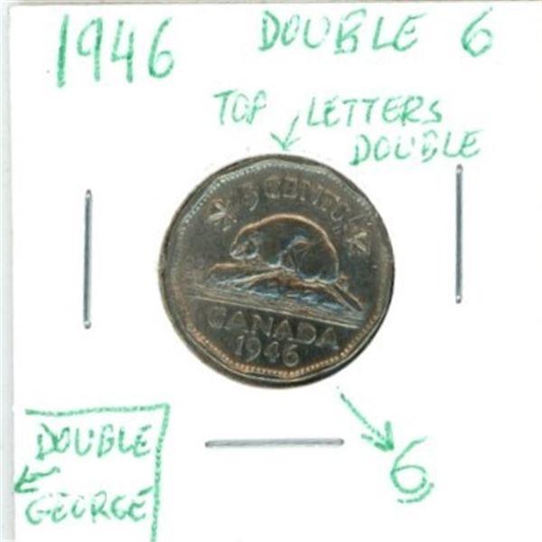 1946 Canadian Nickel