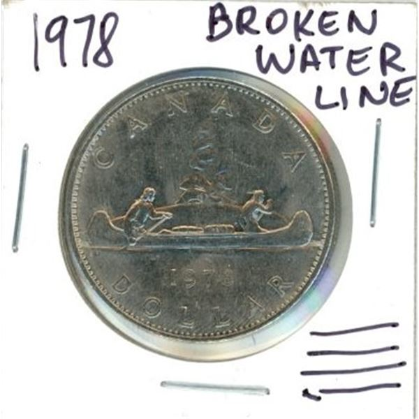 1978 Canadian One Dollar Coin