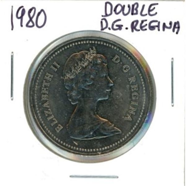 1980 Canadian One Dollar Coin
